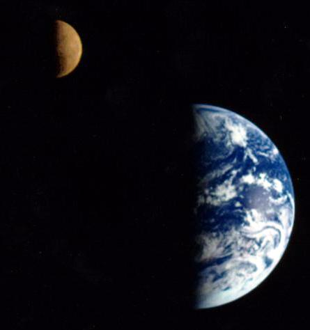 太阳地球月球的绝色之美