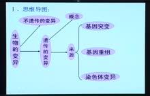 高考生物专题复习方案视频讲座-第17讲 生物的变异专题复习1   上