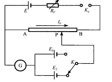 实验:用箱式电势差计测试电势差,电势差公式