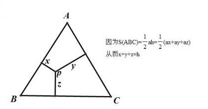 从一个等边三角形的性质想起