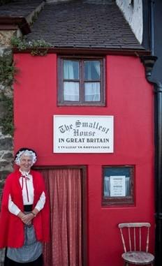 英國最小的房子成旅游景點