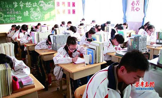 高考进入考场时间|高考进入一轮复习 老师提醒学生学会调整心态
