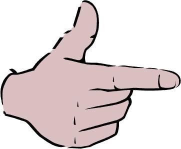 五个手指怎么说?图片