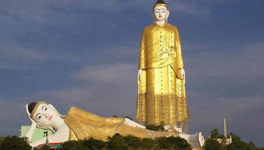 [全球十大惊悚地点]全球十大最宏伟宗教雕塑:Laykyun Setkyar佛像