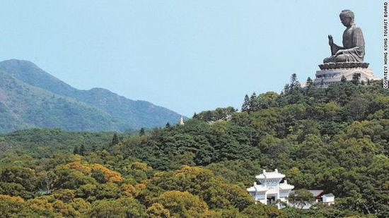全球十大惊悚地点_全球十大最宏伟宗教雕塑:香港天坛大佛