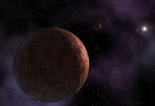 太阳系边缘保护罩_太阳系边缘发现粉色星球 直径450公里