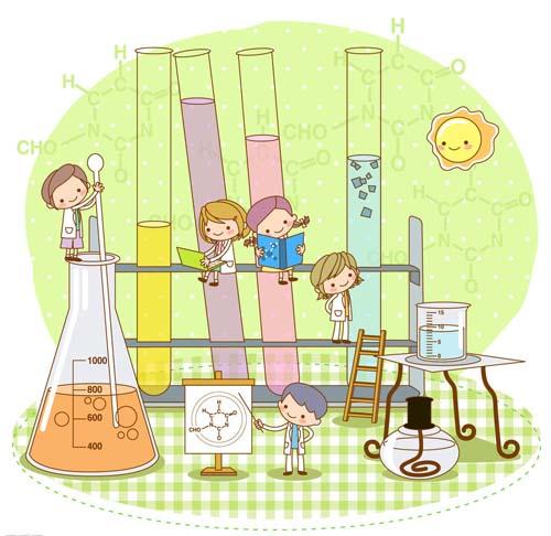 化学滴管矢量图