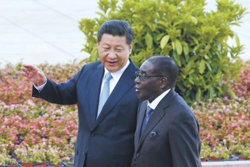 外媒 中国_外媒猜穆加贝访华诉求 北京为其鸣21响礼炮