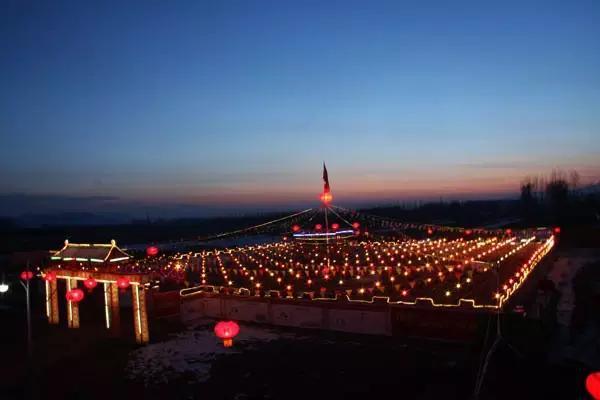 【正月十五北京故宫】北京正月十五去哪赏灯——永宁镇九曲黄河灯阵