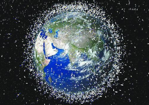 【用激光摧毁太空垃圾】激光大战太空垃圾:让其减速 最终跌入大气层
