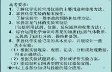 【高考课堂】视频实录  杨军 第6讲 仪器及实验的基本操作
