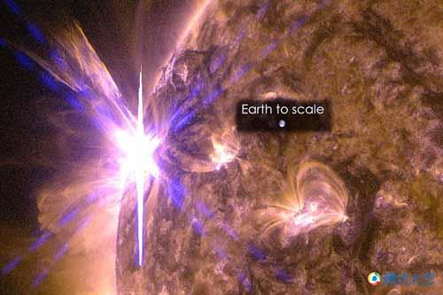 太阳超新星爆发|太阳爆发今年最强耀斑:太平洋无线电中断