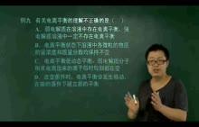 【化学课堂】高中人教版化学选修4知识全讲解视频课程:第12讲弱电解质的电离(下)3(2份打包)