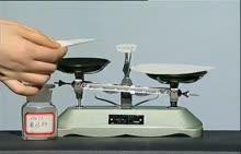初中化学 视频素材 配制一定质量分数的溶液