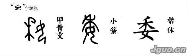 """[汉字溯源 说文解字]汉字溯源:花钿""""委""""地无人收"""