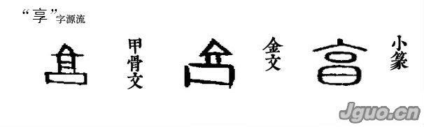 """【汉字溯源 说文解字】汉字溯源:但占风雨都来""""享"""""""