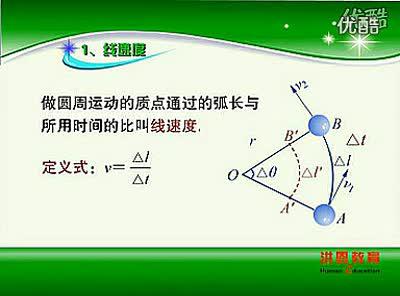 17圆周运动1 新课标高中物理必修习题辅导_标清