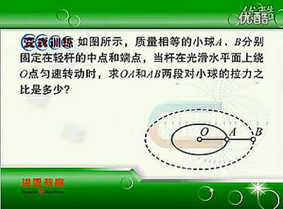 14向心力2 新课标高中物理必修习题辅导_标清