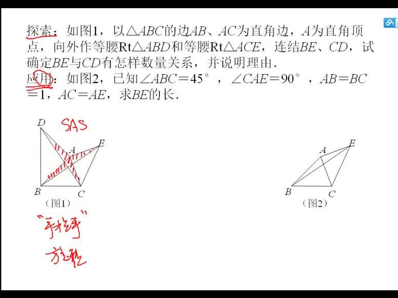 八年级数学期中试题讲解:三角形