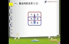 [中学联盟]吉林省吉林市第五十五中学教师微课:高一数学人教A版必修1《1.1.2集合间的基本关系》1