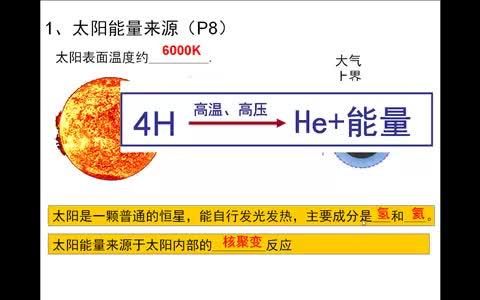 高二地理:第二节:太阳对地球的影响—汪琴——微课