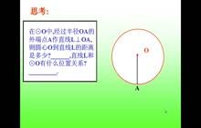 人教版 九年级数学上册: 第二十四章 第2节 第3课时:切线定理-微课堂