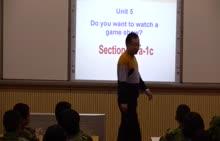 八年级英语 Unit5 Do you want to watch a game show (SectionA1a-1c)