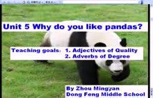 人教版 七年级英语下册:Unit 5 Why do you like pandas?Teaching goals-微课堂