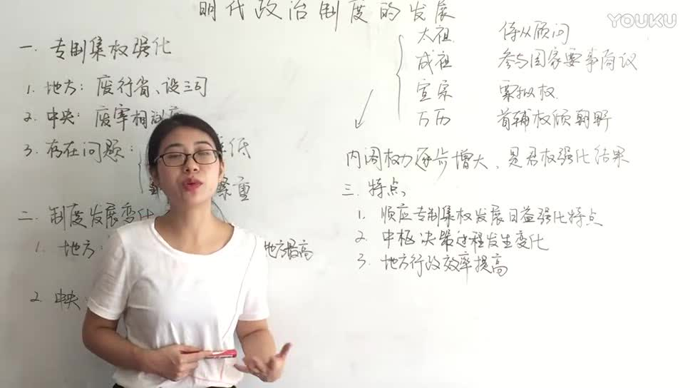 高考历史:明代政治制度的发展【至臻高考精讲课堂】-微课堂