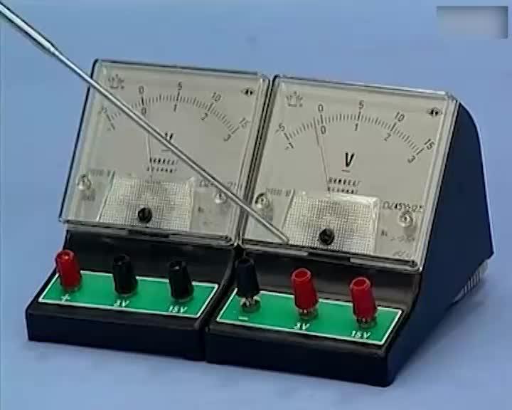 九年级物理 电压表的使用-视频素材