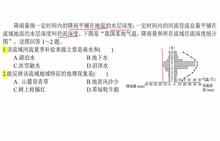 湘教版 高一地理必修一 提升班地理练习4-1、2
