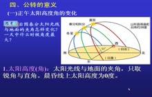 人教版 高一地理必修一 第一章 第三节《地球公转的意义》深圳罗湖外语学校高中部代存刚老师