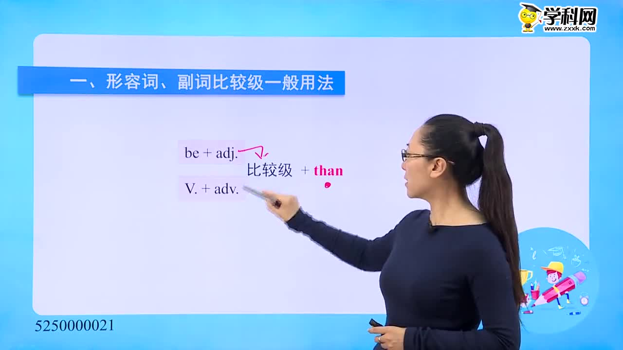 初中英语-形容词、副词:形容词、副词比较级-试题视频