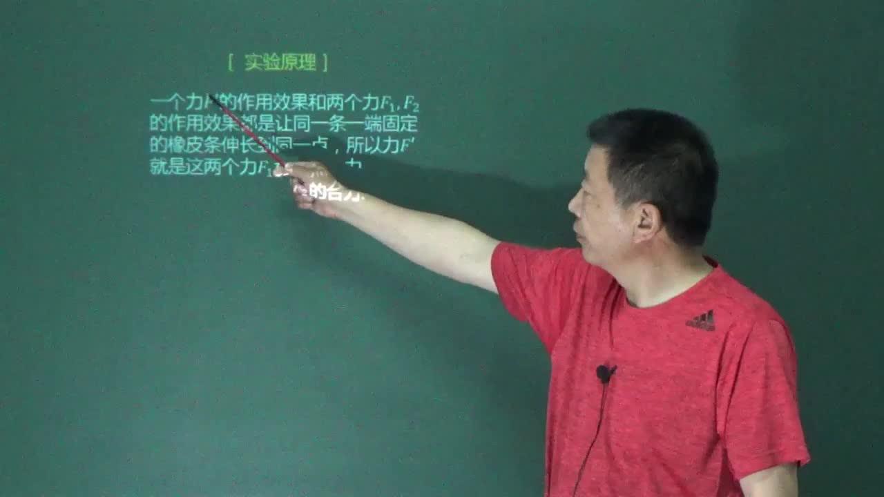 人教版 高一物理必修一 第三章 相互作用 第四节 第二讲:3.4.2 力的合成(名师示范课视频)