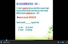 人教版 九年级英语 第14单元第6课时-微课堂
