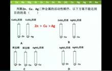 人教版 九年级化学:课题2 金属的化学性质-微课堂