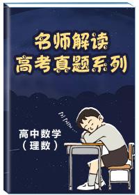 名师解读高考真题系列-高中数学(理数)