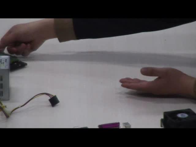 高一信息技术微课:台式机电脑组装