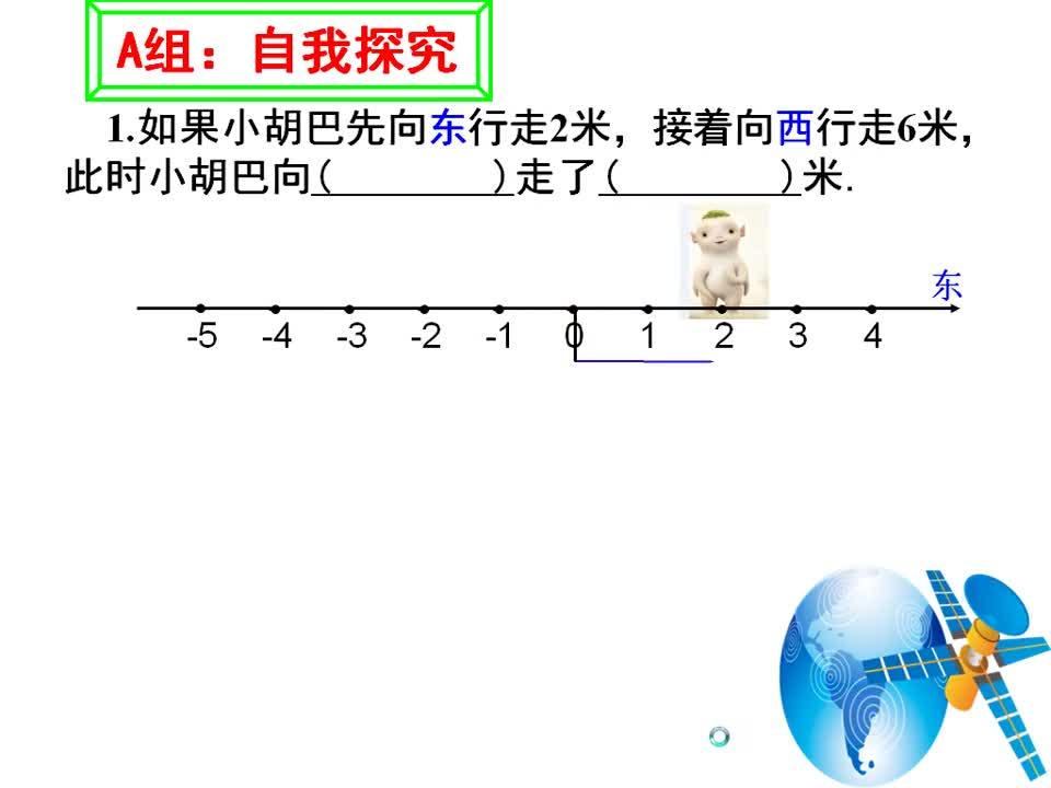 鲁教版(五四制)六年级数学上册 第二章 第四节:有理数的加法
