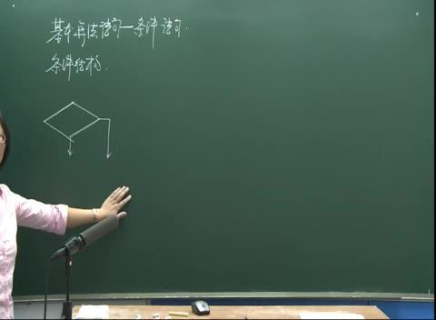 人教版 高二数学必修三 第一章 第2节:基本算法语句-条件语句