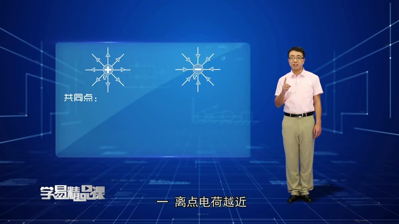 静电场 电场力的性质 第四讲 电场线的特点