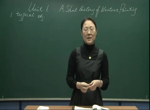 人教版 高二英语 选修六 Unit 1 A short history of western painting-vocabulary01-名师示范课