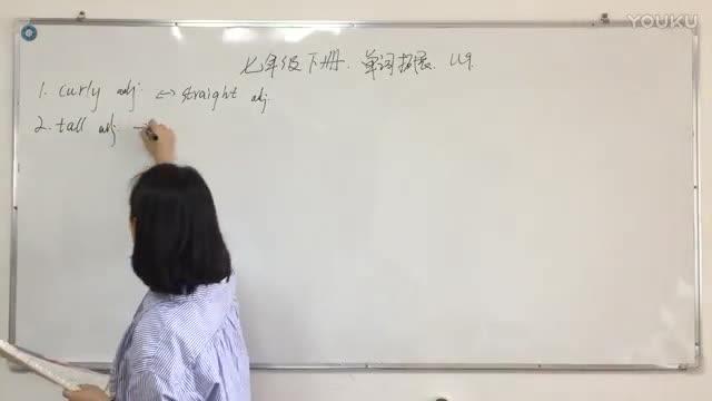 七年级下册 英语 单词拓展 Unit 9-说课