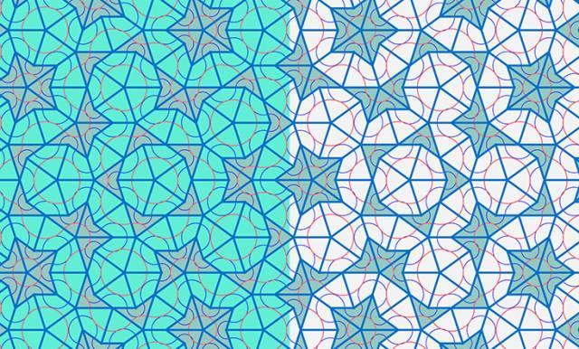 数学设计有规则图案