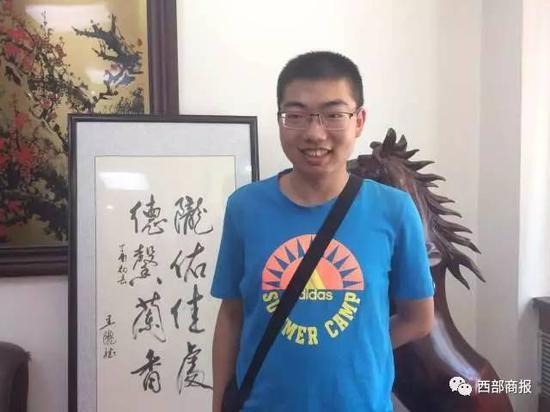 2017甘肃理科状元肖智文