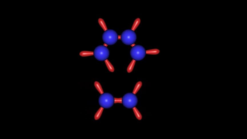 人教版高二化学选修三第二章第一节苯分子的形成动画演示