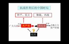 人教版歷史八年級上冊微課——《重慶談判 (1份打包)