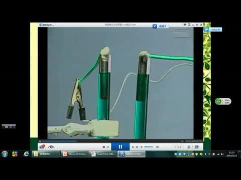 苏教版 高二化学 化学反应原理:电解氯化铜溶液-微课堂