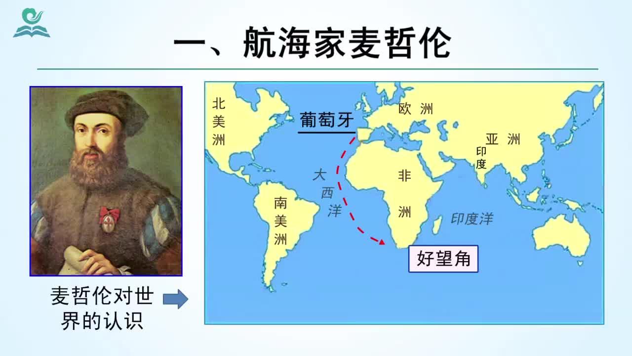 【名校名师微课】九年级上历史(人教版)中考考点精讲微课视频:麦哲伦环球航行