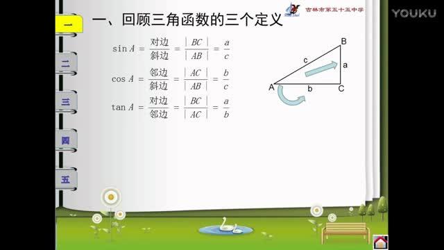 高一数学人教A版 必修四 1.2.2 同角的三角函数的基本关系-微课堂